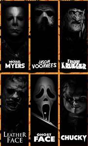 Horror Movie Killers horror jason voorhees freddy kruger ...