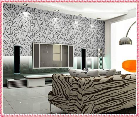 Wohnzimmer Tapeten Ideen Modern by 37 Modern Wallpaper Living Room Wallpapers For Living
