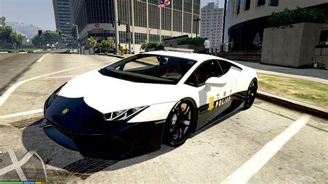 Japanese Police Lamborghini Huracan Gta5modscom