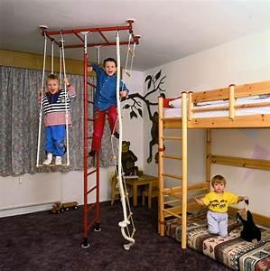Kinderbetten Hochbett Rutsche Kinderzimmer Gestalten