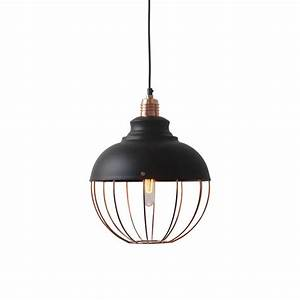 Copper spin pendant light modern furniture brickell