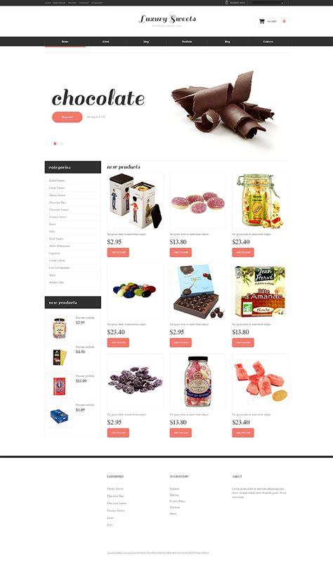 la mejor tienda template drupal tema jigoshop 48551 para sitio de tienda de dulces