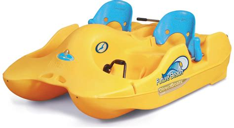 Self Bailing Pedal Boat by Water Bee 200r Pedal Boat