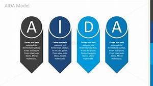Aida Arrows Diagram For Powerpoint