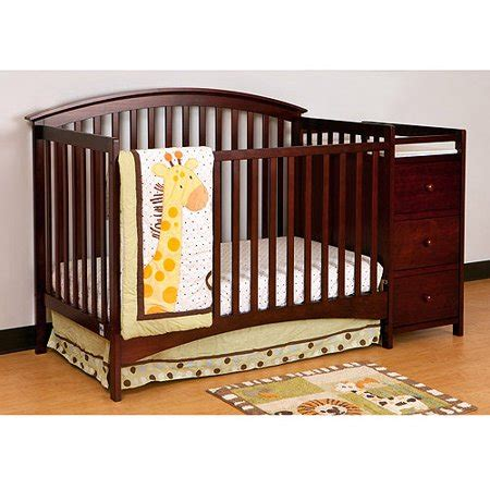 4 in 1 crib with changing table storkcraft bradford 4 in 1 fixed side convertible crib and