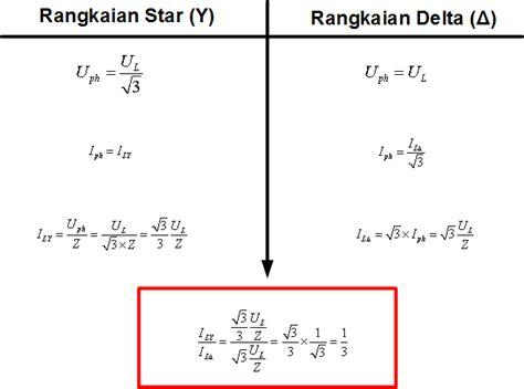 perhitungan untuk motor 3 fasa kaltimintegrator