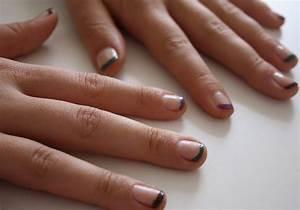French Manucure Couleur : tuto nail art french manucure color e ~ Nature-et-papiers.com Idées de Décoration