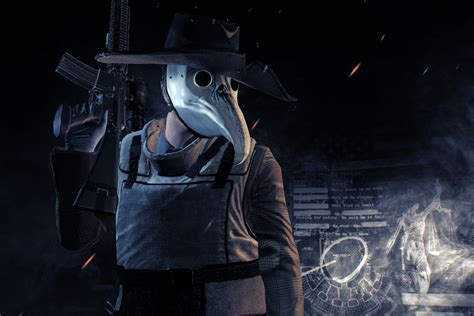 payday  update     infamous plague doctor