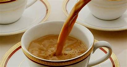 Tea Morning Cafe Tasse Lait Petit Cinemagraph