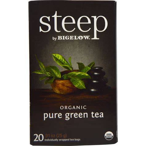 - Steep Organic Green Tea #A17703