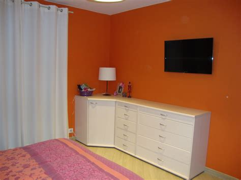 deco chambre gris blanc beautiful deco chambre orange et marron ideas matkin