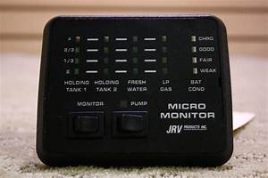 Rv Components Used Jrv Micro Monitor System Panel For Sale