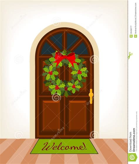 decorated door clipart clipground