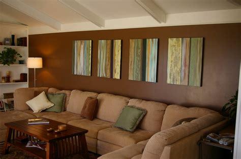 Wohnzimmer Braune Wand by Wohnzimmer Streichen 106 Inspirierende Ideen