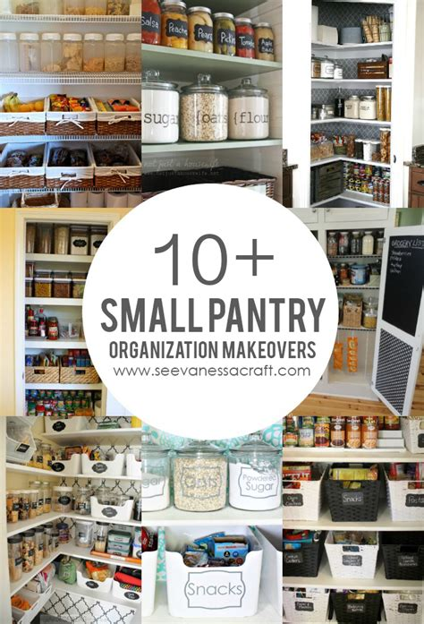 Organizing Kitchen Pantry Ideas - organization 10 small pantry makeovers see vanessa craft