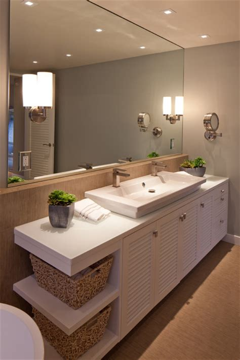 sustainably beach modern contemporary bathroom san