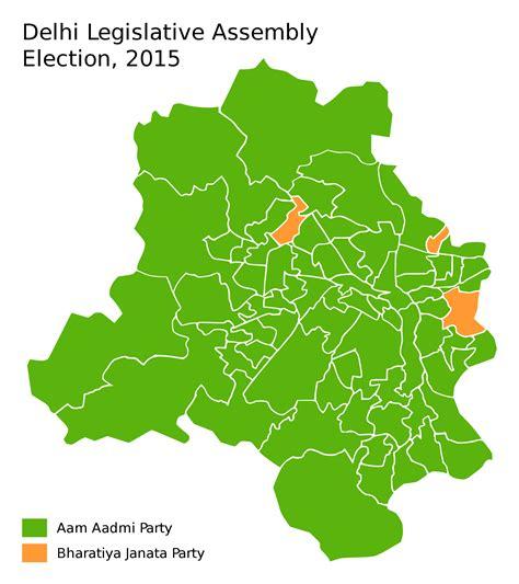 delhi map election