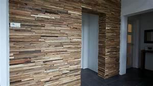 Wand Verkleiden Mit Holz : holz wandverkleidung im durchgang bs holzdesign ~ Sanjose-hotels-ca.com Haus und Dekorationen