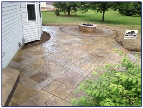 backyard cement patio ideas collection sted cement patio designs home decorating ideas
