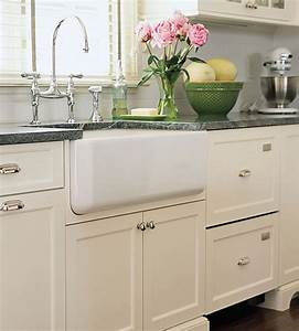 lavabos para cocinas de estilo cottage With kitchen colors with white cabinets with old fashioned sticker