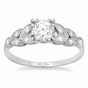 diamond leaf accented nature inspired engagement ring With nature inspired wedding rings