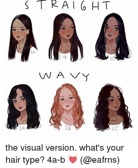 straight  vna vy   visual version whats  hair