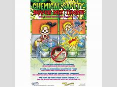Chemical Safety poster CrewSafe