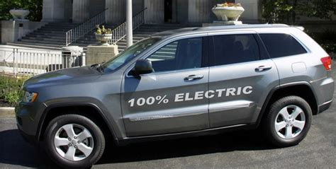 amps converted electric jeep  cost   tesla model