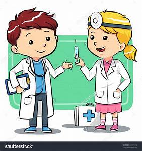 Kids Doctor Clipart - ClipartXtras