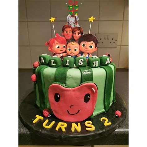 Celebrating birthdays with cakes has been a tradition since the early ages. #cocomelon#fondantladybug#cocomeloncake#2ndbirthdaycake# ...