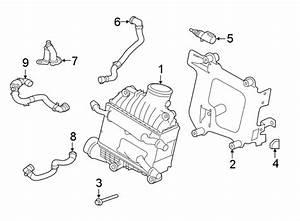 Jaguar Xe Hose   Upper   Diesel  Radiator  Liter
