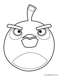 Bombs Angry Birds Coloring Pages
