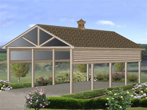 Motorhome Carport Plans by Carport Plans Rv Carport Plan With 14 Ceiling 006g