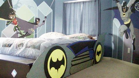 batmobile toddler bed t square e d g e batman and friends room with batmobile bed