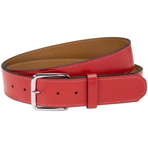 Cowhide Leather Belt by Athletic Specialties Mens Genuine Cowhide Leather Belts Ebay