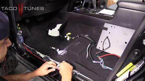 toyota runner   install amplifier power wire