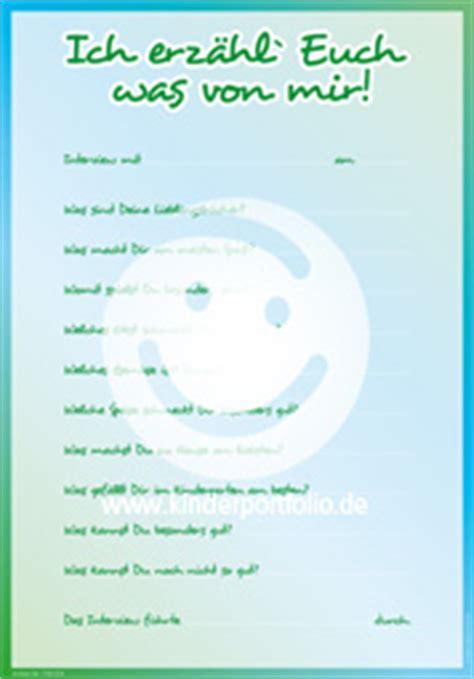 kindergarten portfolio vorlagen