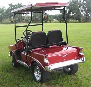 56 Chevy Custom Golf Cart Body Kits Prec  Ezgo Txt Yamaha