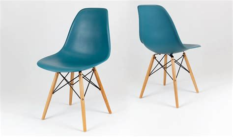 fauteuil de bureau noir chaise dsw design scandinave bleu canard avec pieds en bois