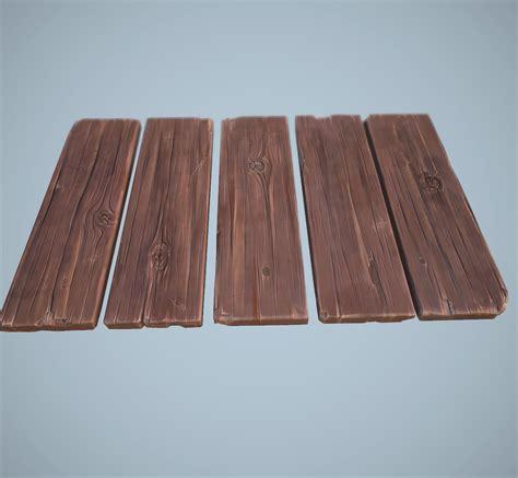 artstation cartoon wooden planks alexey