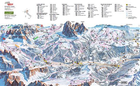 val gardenaalpe  siusi slope map dolomiti superski