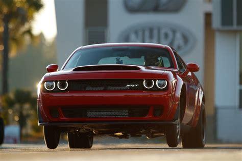 2018 Dodge Challenger Demon Nhra Drag Racing Ban Explained