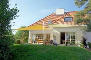 vorteile sonnensegel terrasse m belideen With terrassen sonnensegel