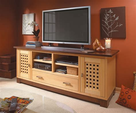 flat screen tv hutch flat screen tv cabinet woodworking project woodsmith plans