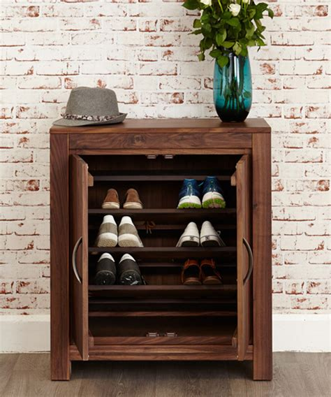 Shoes Cupboard by Store Walnut Shoe Cupboard Mayan