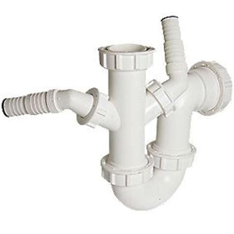p trap size for kitchen sink floplast dual sink wash trap white 40mm traps 9032