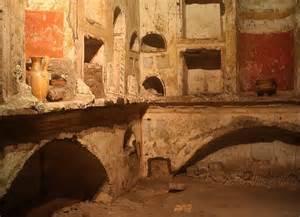 the scavi is actually the vatican necropolis