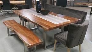 Esstisch Akazie Baumkante : esstisch madras massivholz akazie 210x110 cm mit baumkante ~ Watch28wear.com Haus und Dekorationen