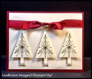 2014 stampin up christmas card idea video tutorial 12
