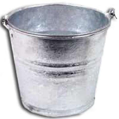metal water tub lot of 6 2gp dipped galvanized metal 2 qt water